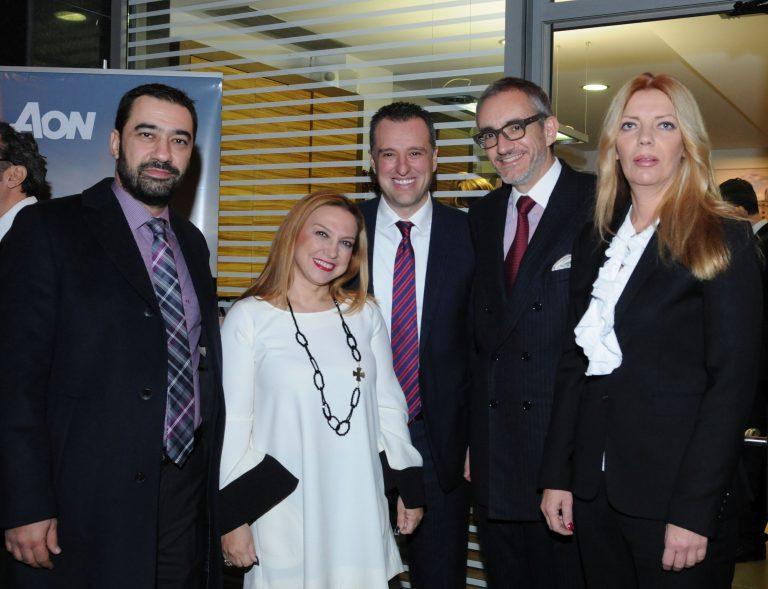 H Aon εγκαινίασε το υποκατάστημα της Θεσσαλονίκης