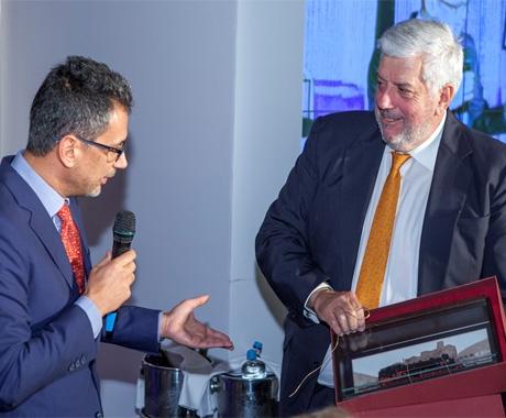 H Interamerican τίμησε τον κ. Γιώργο Κώτσαλο