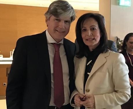 Συνάντηση της ΕΑΕΕ με την Άννα Διαμαντοπούλου