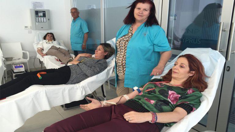 Αίμα Ζωής από την CNP Cyprialife