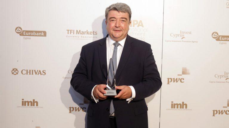 Η CNP Assurances βραβεύτηκε με το CIPA International Investment Award 2017