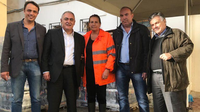 Τρόφιμα και νερό στους πληγέντες των Δήμων Μάνδρας – Ν. Περάμου από το ΕΕΑ