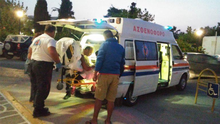 24 διακομιδές στις Κυκλάδες με το ασθενοφόρο της Interamerican