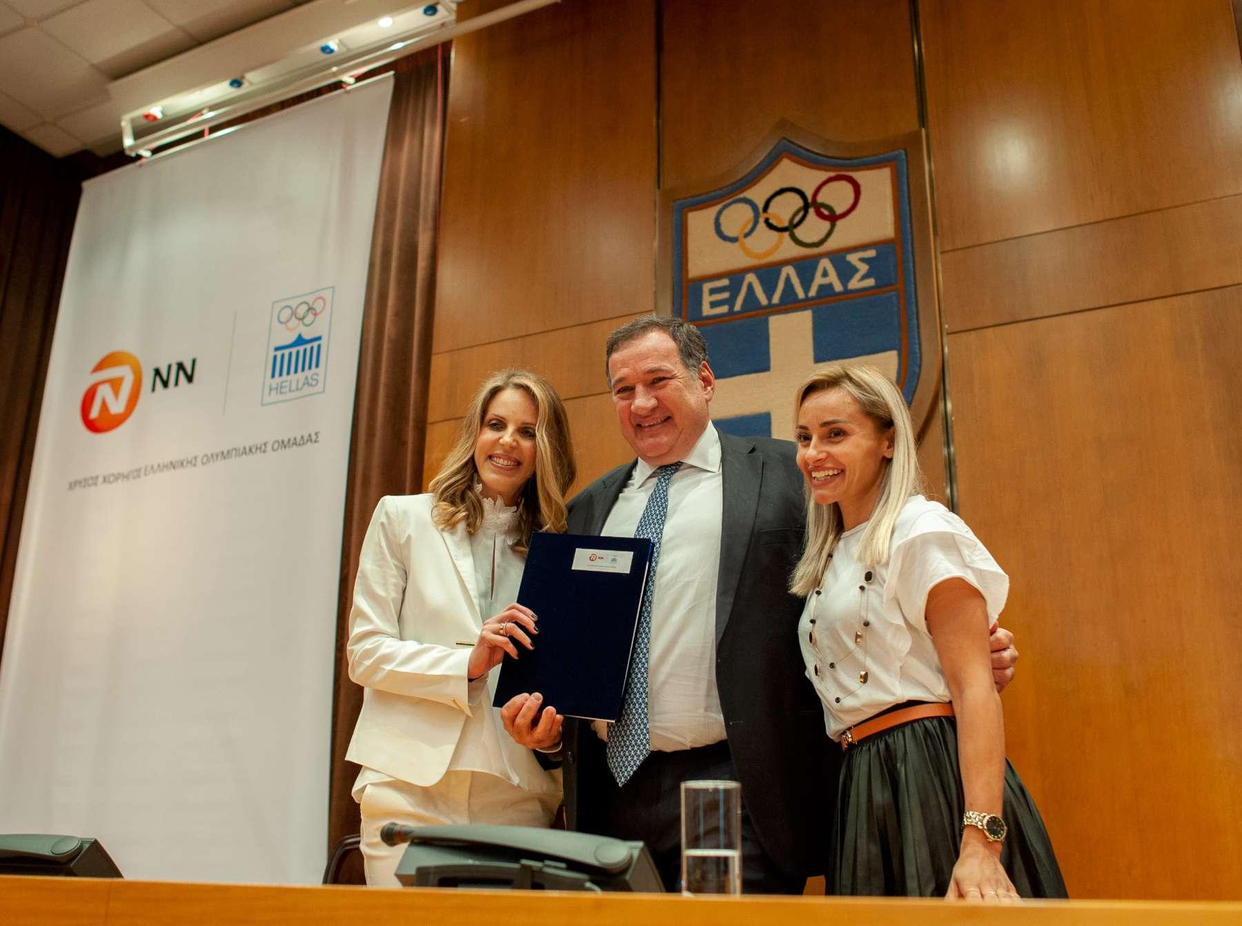 ΝΝ Hellas: Χρυσός Χορηγός της Ελληνικής Ολυμπιακής Ομάδας
